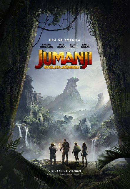 aa6b408ef Jumanji: Vitajte v džungli – program a vstupenky online | Kino DK ...