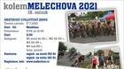 Cyklistický závod - kolem Melechova 2021