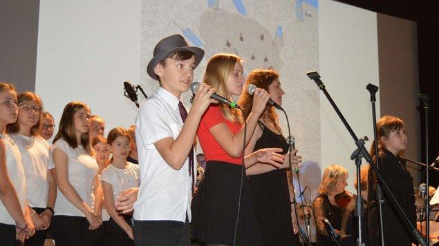 Vánoční koncert ZUŠ Sezimovo Ústí
