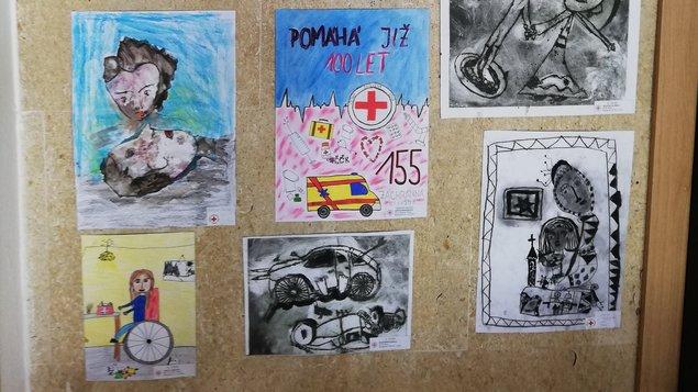 Výstava ČESKÉHO ČERVENÉHO KŘÍŽE