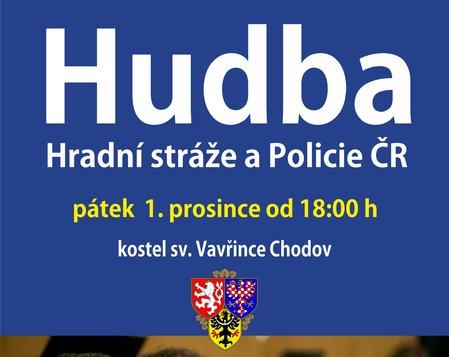 Hudba Hradní stráže a Policie ČR