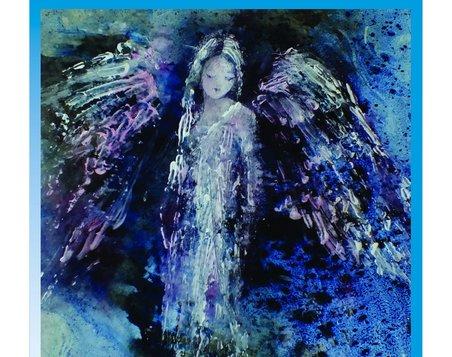 Modré z nebe - výstava obrazů Václavy Macků
