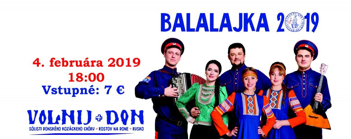 VOLNIJ DON – BALALAJKA TOUR 2019