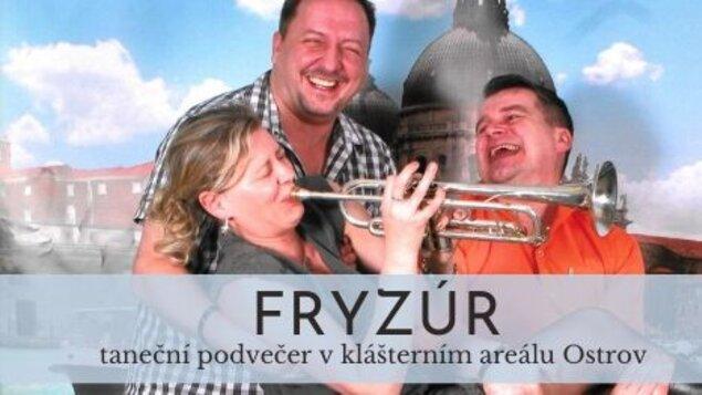 Klášterní podvečer s kapelou Fryzúr