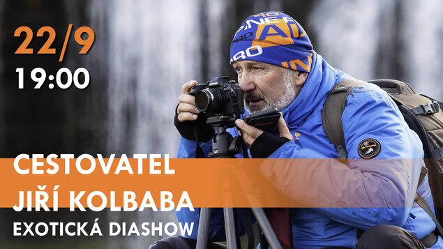 Cestovatel Jiří Kolbaba ~ Exotická diashow
