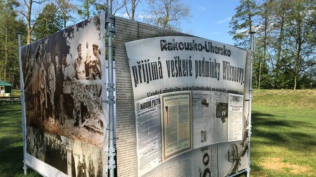 """Zrodila se republika!"" Sezimovo Ústí 1918"