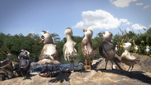 Veľké vtáky XX