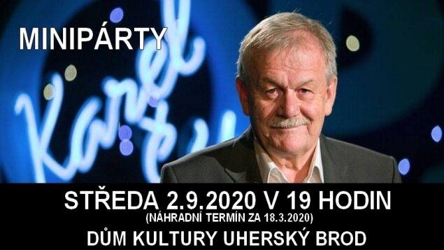 Minipárty s Karlem Šípem - přesunuto z 18.3.2020