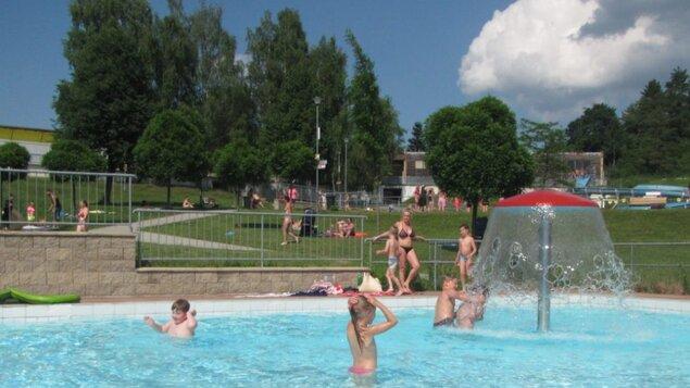 Otevření dětských bazénků