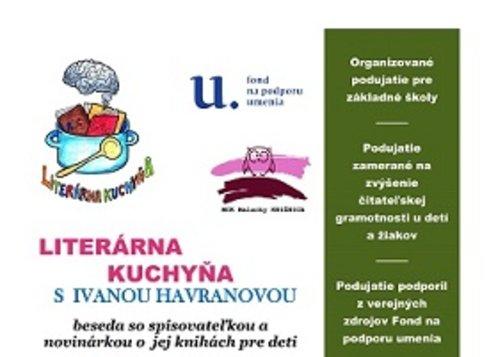 Literárna kuchyňa s Ivanou Havranovou