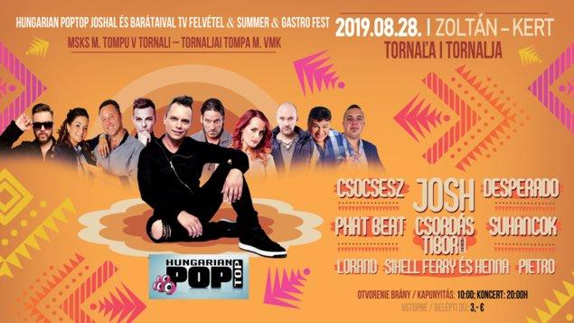 Summer Fest 2019 Tornaľa - Tornalja