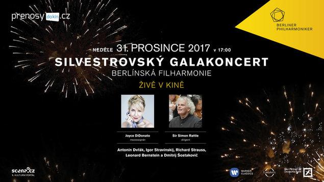 Silvestrovský galakoncert / Berlínská filharmonie 2017 / živě / satelitní přímý přenos