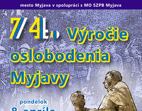 74. Výročie oslobodenia Myjavy