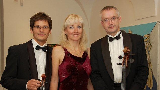 Moravské klavírní trio - Novoroční koncert s přípitkem starosty