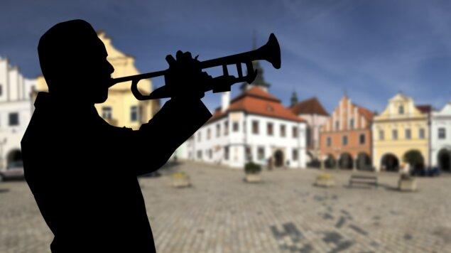 Černovická dechovka - promenádní koncert - Léto v Pelhřimově