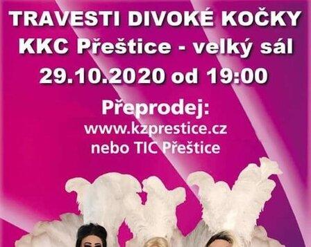 Travesti show Divoké kočky 2020