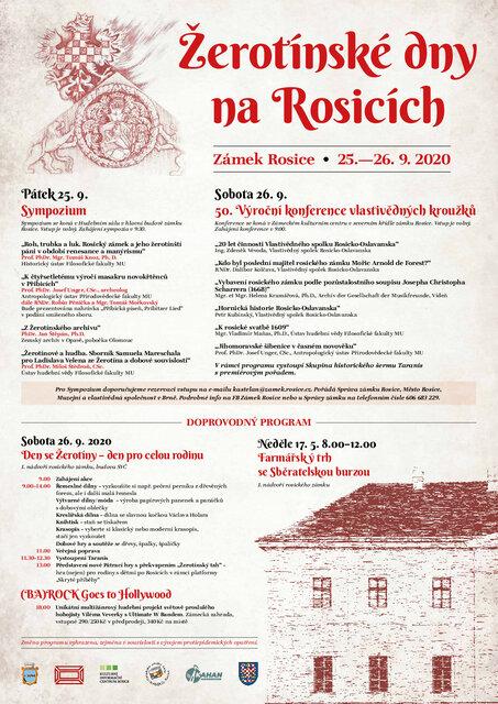 Žerotínské dny na Rosicích