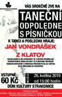 Taneční odpoledne s písničkou-květen II.2019