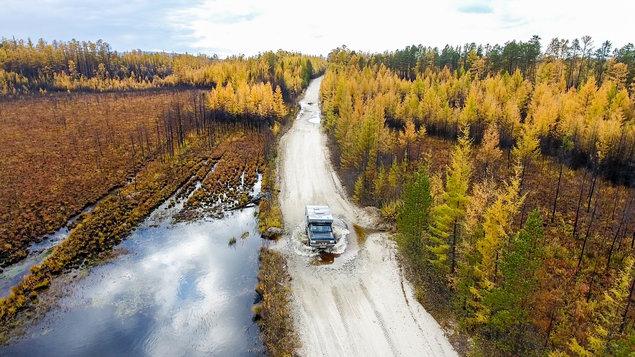Bronco namiesto hotela - Mongolsko a Sibír