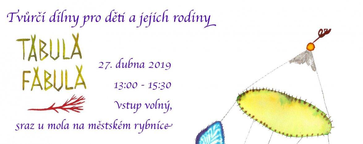Tvůrčí dílny pro děti a jejich rodiny 27.4. v 13:30