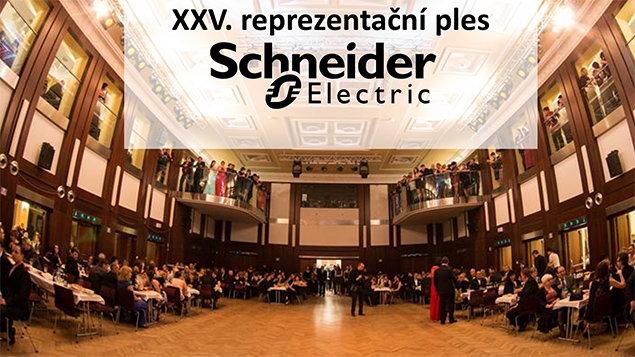 XXV. reprezentační ples firmy Schneider Electric