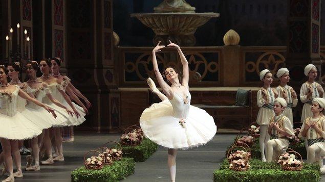 Korzár (Bolšoj balet) - živě