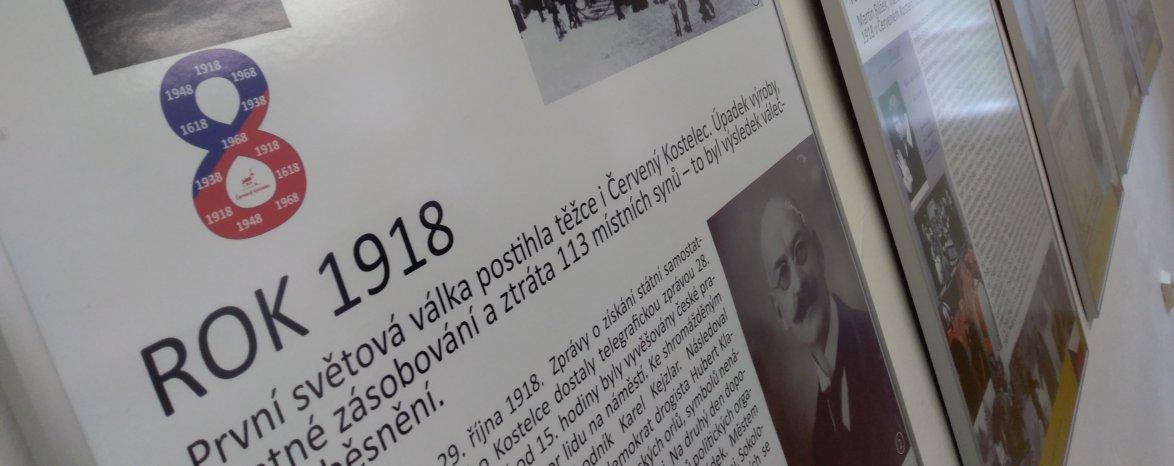 Osudová osmičková výročí na červenokostelecku