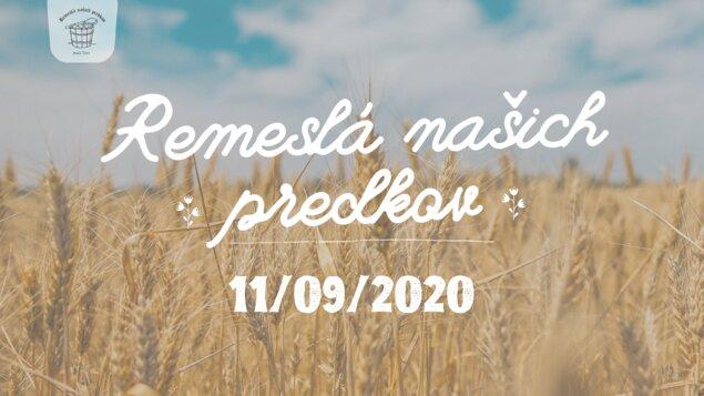 Remeslá našich predkov 2020 - presun na 11. september 2020
