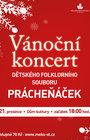 Vánoční koncert dětského souboru Prácheňáček