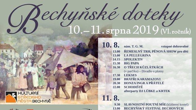 BECHYŇSKÉ DOTEKY 2019 (VI. ročník)