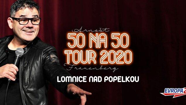 Arnošt Frauenberg – 50 na 50 – Tour 2020 – Stand-up comedy Speciál
