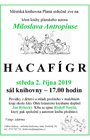 Hacafígr, středa 2. 10., sál knihovny, 17.00