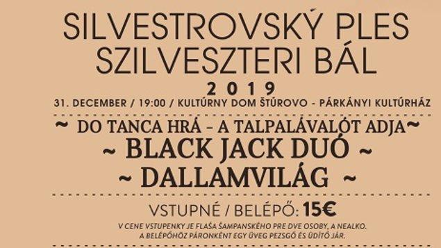 Silvestrovský ples, 31.12.2019