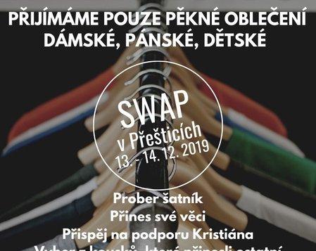 SWAP - výměna oblečení 13-14.12.2019