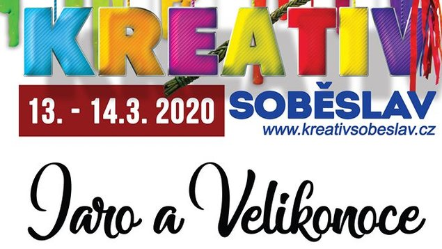 Kreativ Jaro a Velikonoce 2020 - ZRUŠENO!