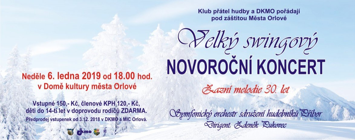 Velký swingový novoroční koncert