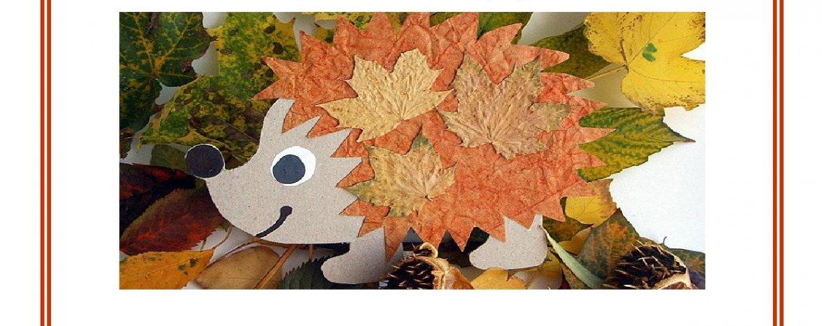 Kreativní odpoledne - Ježci a ježečci, 21. 10. v 13:00