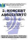 2. koncert absolventů