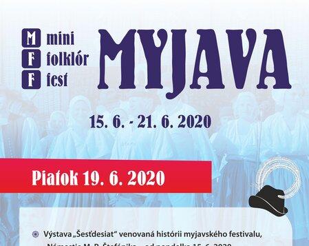 MFF MYJAVA 2020 Piatok
