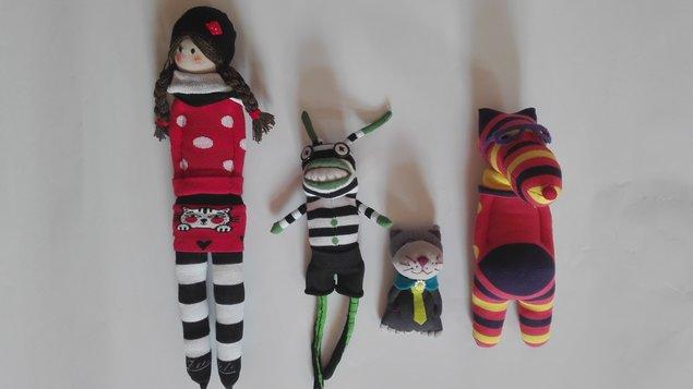 Kurz kreativity: Čo s ponožkami?