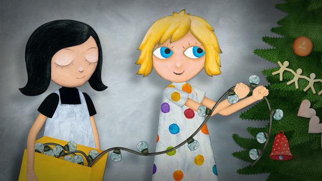 Mimi a Líza: Záhada vianočného svetla