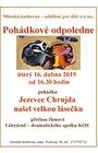 Pohádkové odpoledne 16. 4. od 16.30