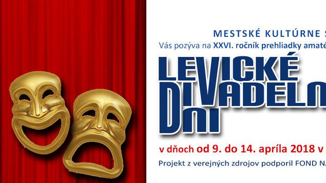 1a54199bda Levické divadelné dni – program a vstupenky online