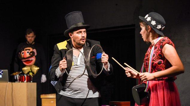 Divadlo dětem: O popleteném kouzelníkovi