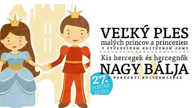 Veľký ples malých princov a princezien, 27.01.2019