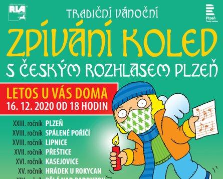 Zpívání koled s Českým rozhlasem Plzeň 2020
