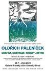Oldřich Páleníček - grafika, ilustrace, kresby - retro