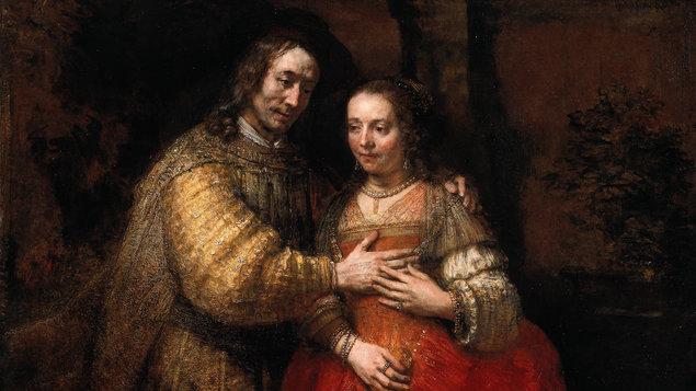 Rembrandt  z Národní galerie v Londýně a Rijksmusea v Amsterdamu