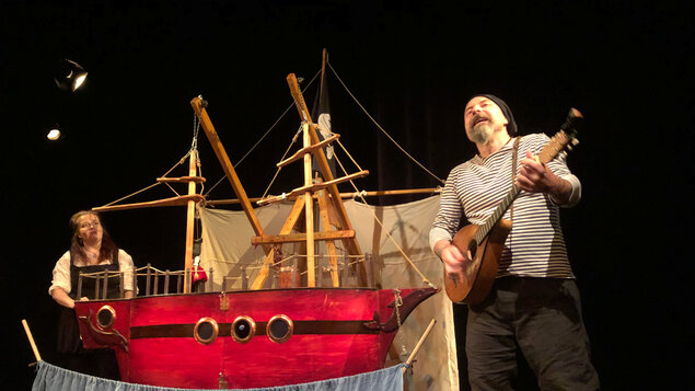 Vimperský kašpárek - Pirátská pohádka - Divadlo Kubko
