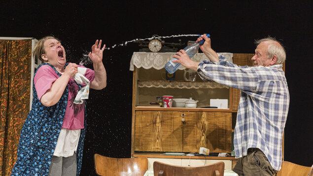Predstavenie Jókaiho Divadla  – Spiró György: PRAH